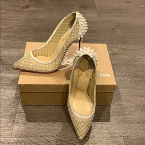 Christian Louboutin spiked pumps